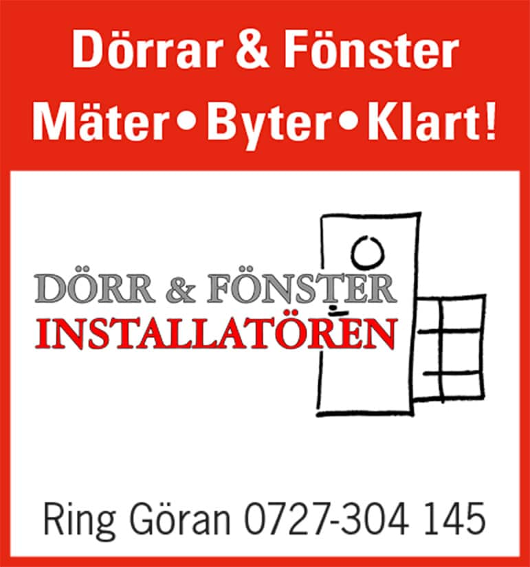 Dörr & Fönsterinstallatören