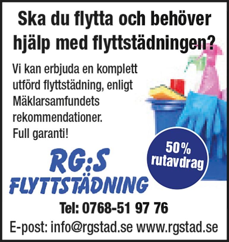 RG's Flyttstädning