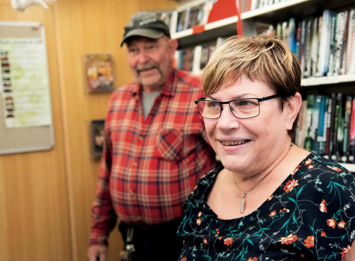 Anette Marcus och Thomas Lindhberg