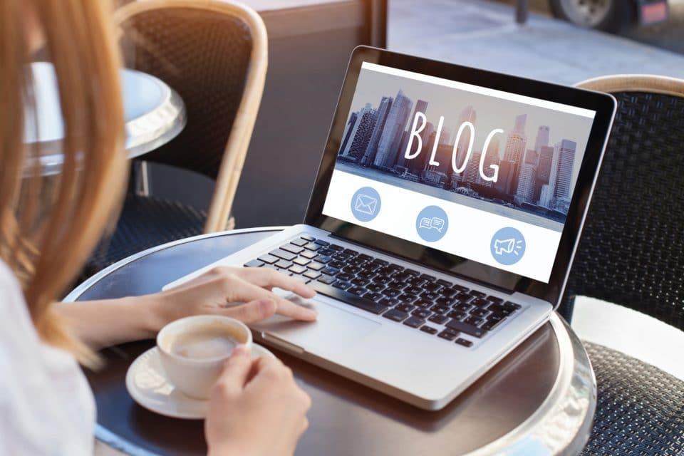 Starta en företagsblogg