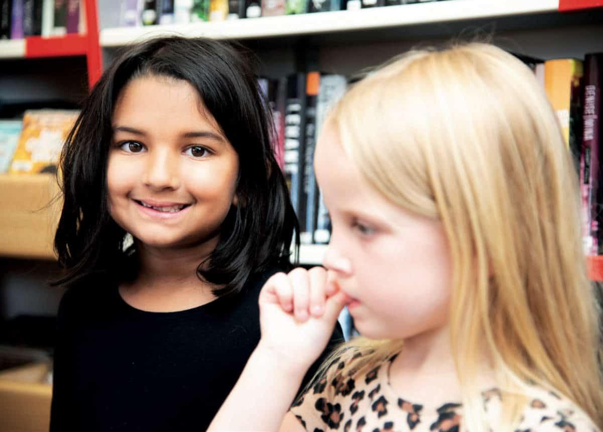 Lily och Felicia