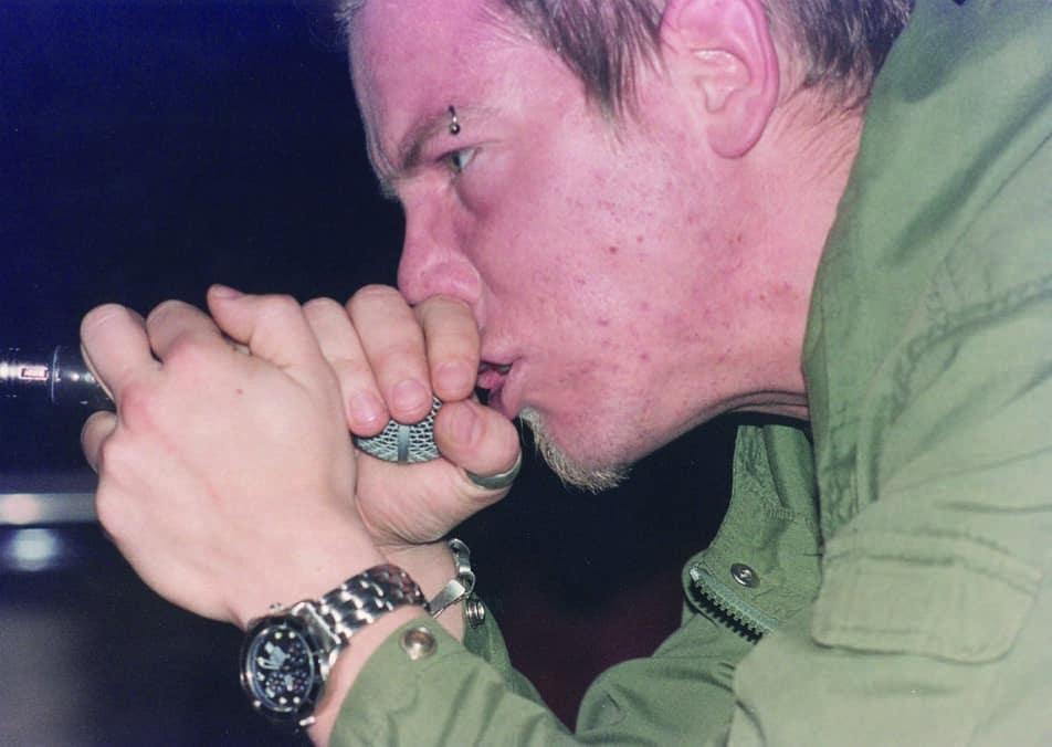Martin Wetterstrand,sångare i LOK