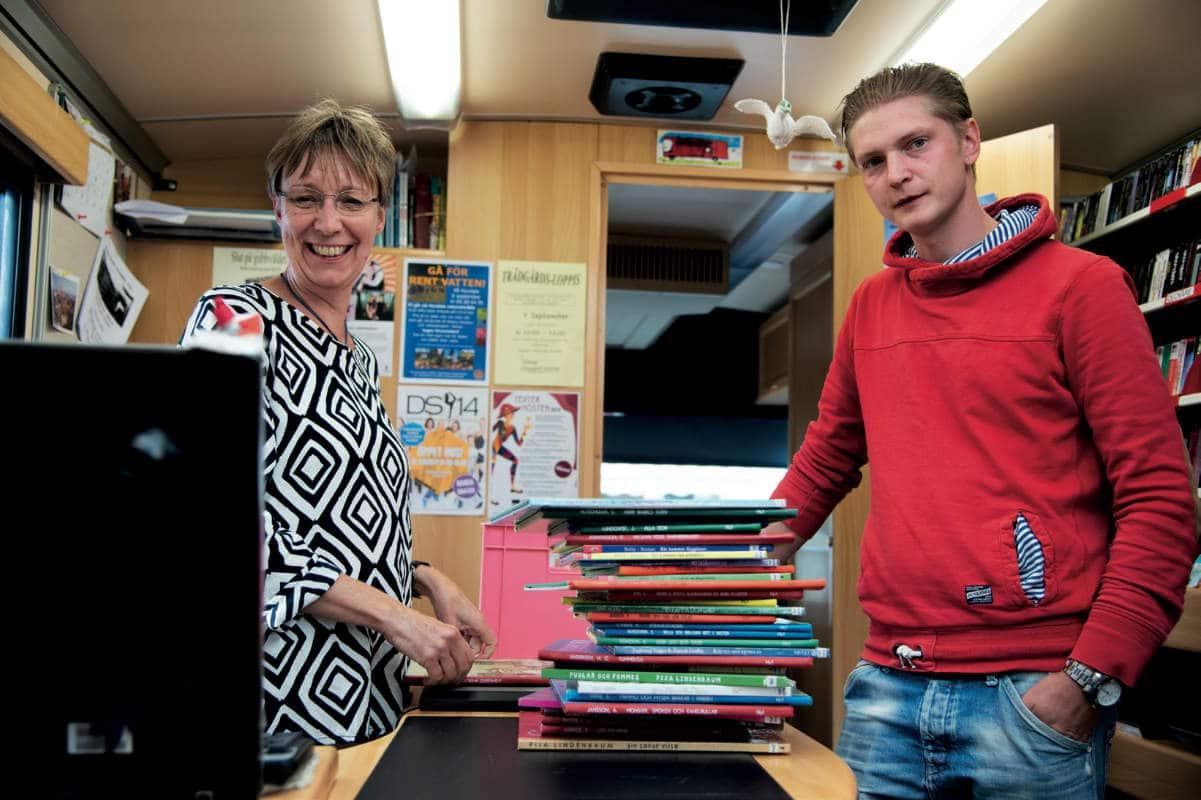 Nina Carstens och Joakim Johnsson