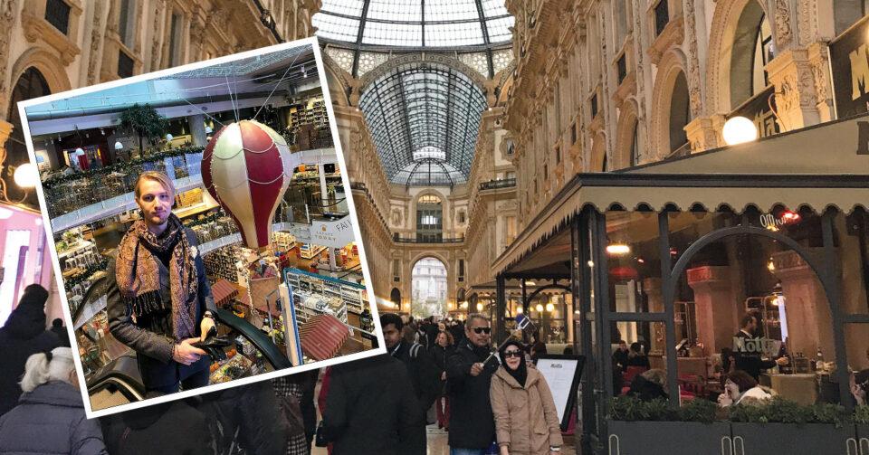 Ludvig studerar i Milano