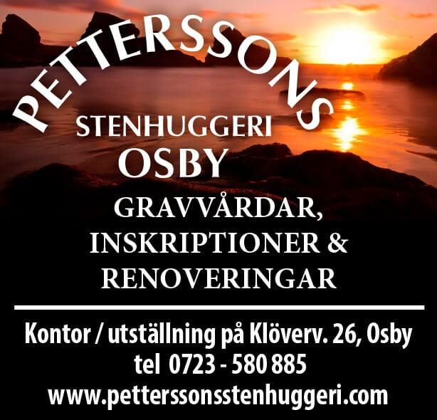 Petterssons Stenhuggeri Osby