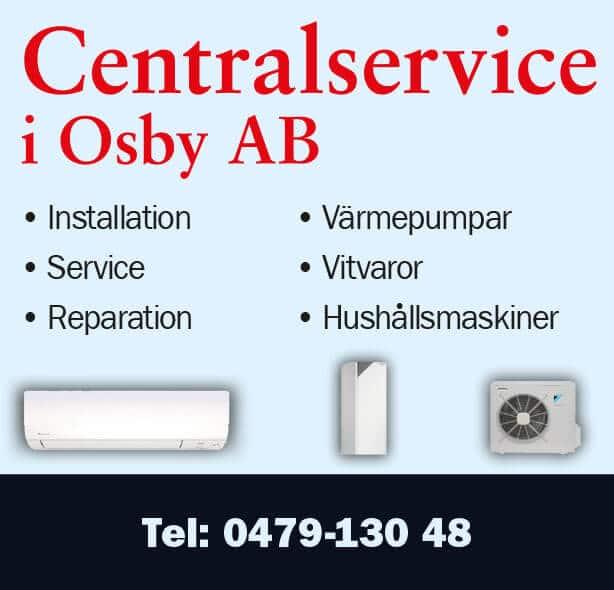 Centralservice i Osby AB