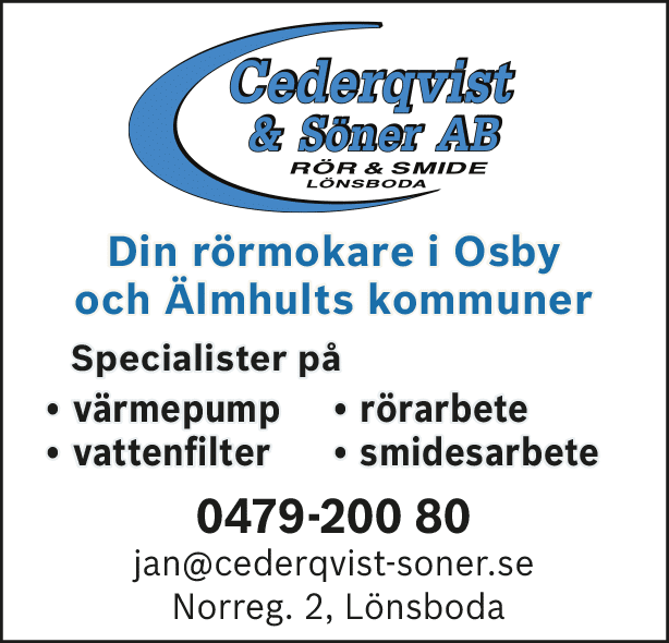 Cederqvist & Söner