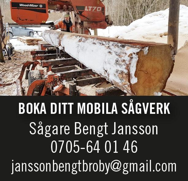 Sågare Bengt Jansson