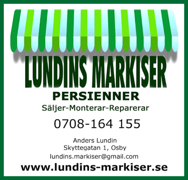 Lundins Markiser