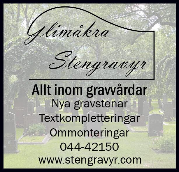 Glimåkra Stengravyr