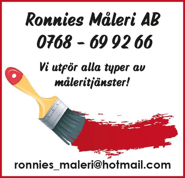 Ronnies Måleri AB