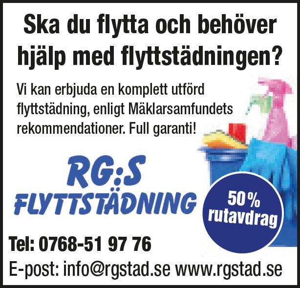 RG:s Flyttstädning