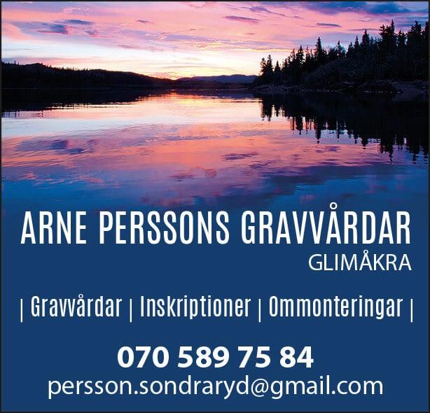Arne Perssons Gravvårdar