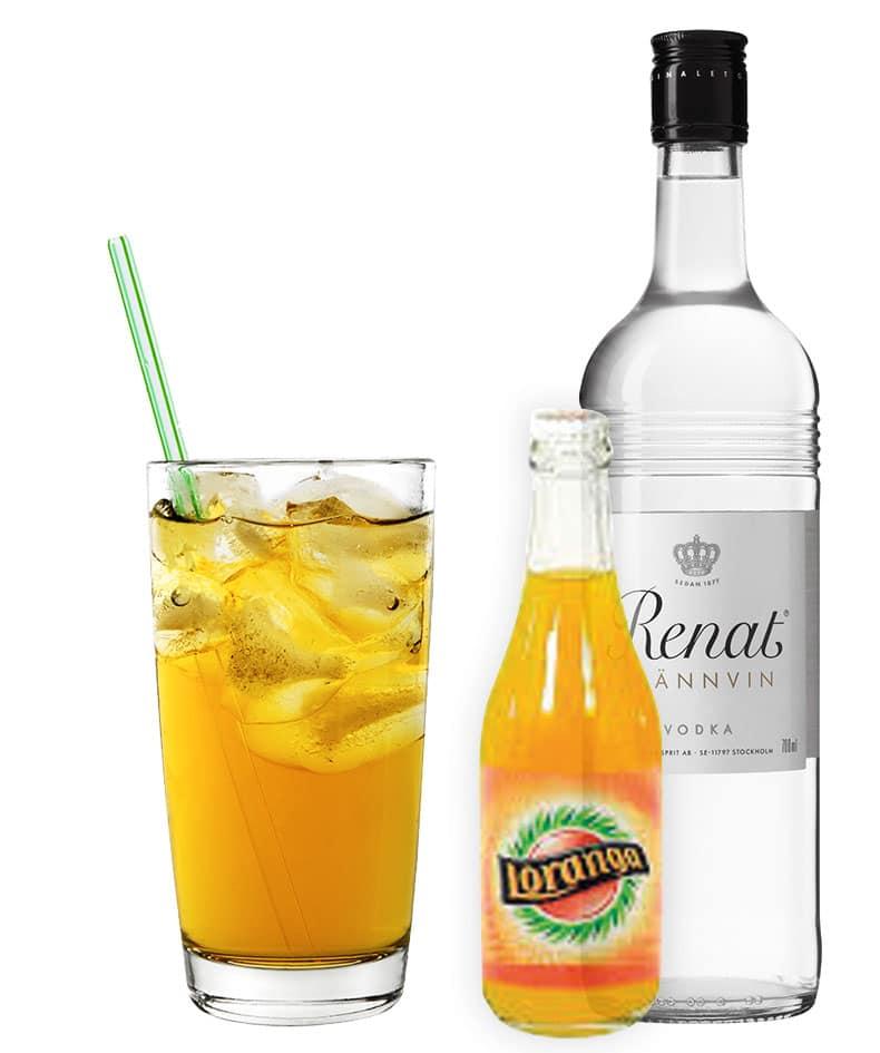 Loranga och vodka i ljuv kombination