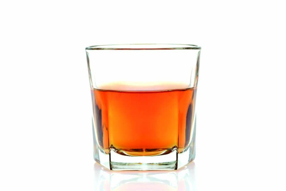 Ett glas whiskey
