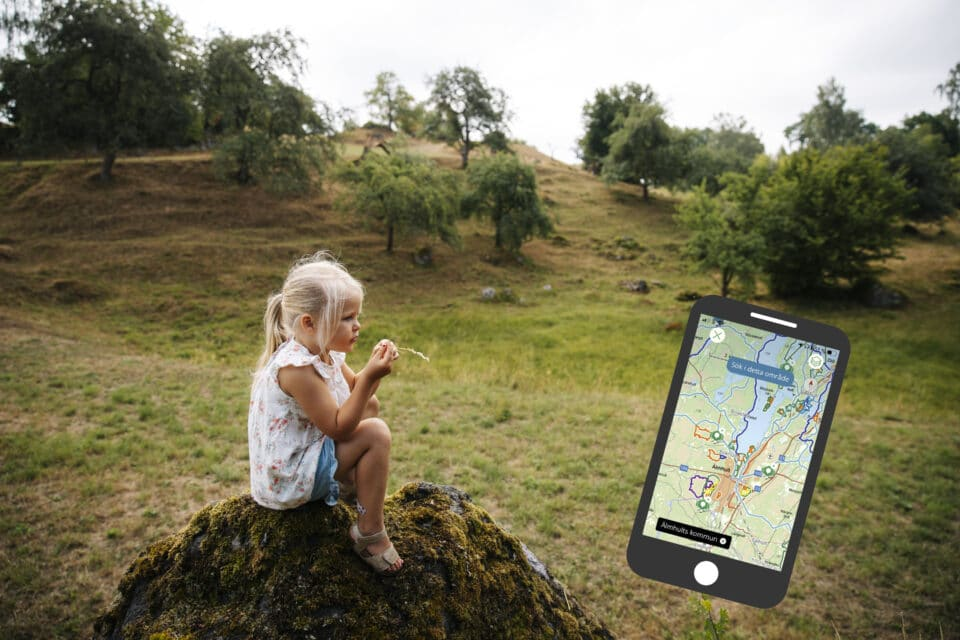 Naturkartan finns nu även på engelska