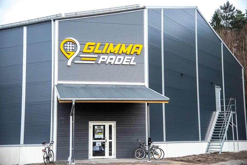 Succé för ny padelhall i Glimåkra