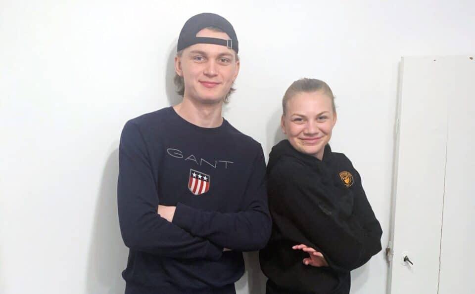 Syskonen Andersson är framgångsrika idrottare