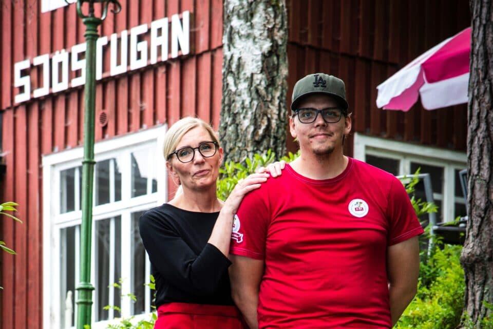Café Sjöstugan i Vittsjö