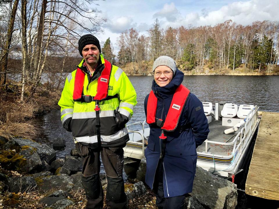 Hållbar kanotled vid Immeln