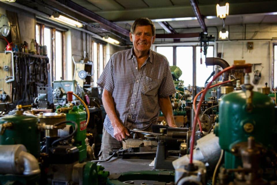 Götamotorer i Osby är ett unikt industriminne